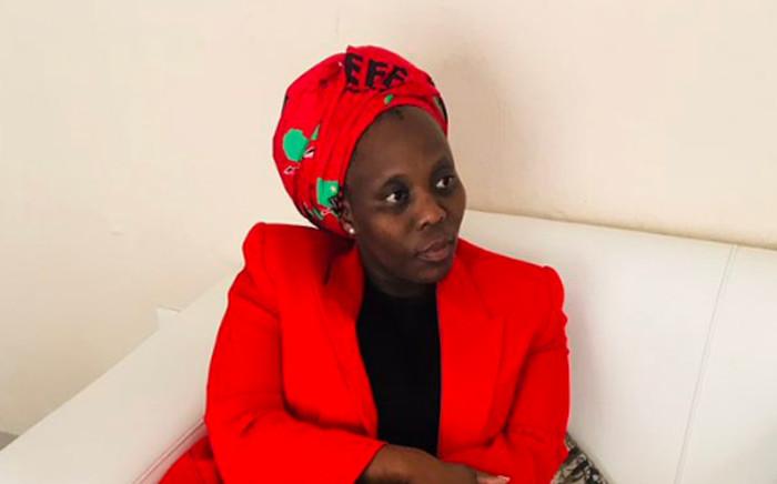 Former EFF Member of Parliament Tebogo Mokwele. Picture: @ntlhapa/Twitter