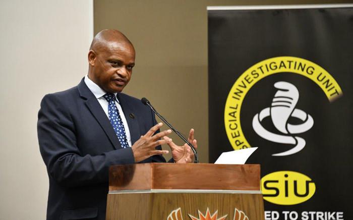 FILE: SIU's head, Advocate Andy Mothibi. Picture: @RSASIU/Twitter