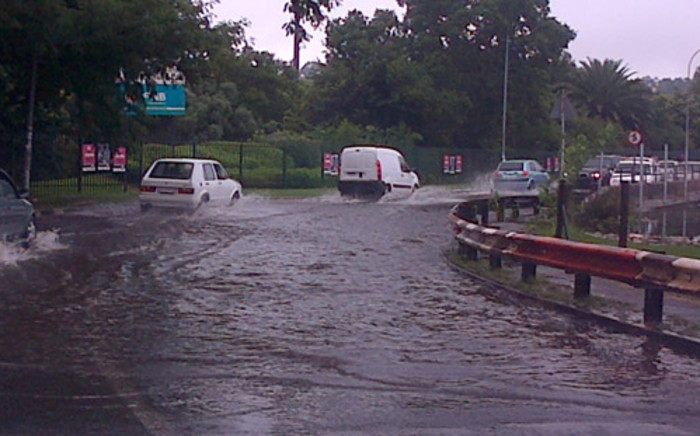 FILE: Major roads around Gauteng have been damaged by severe rains. Picture: iWitness.