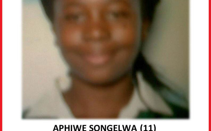 Aphiwe Songelwa was last seen on 2 September 2013. Picture: Supplied