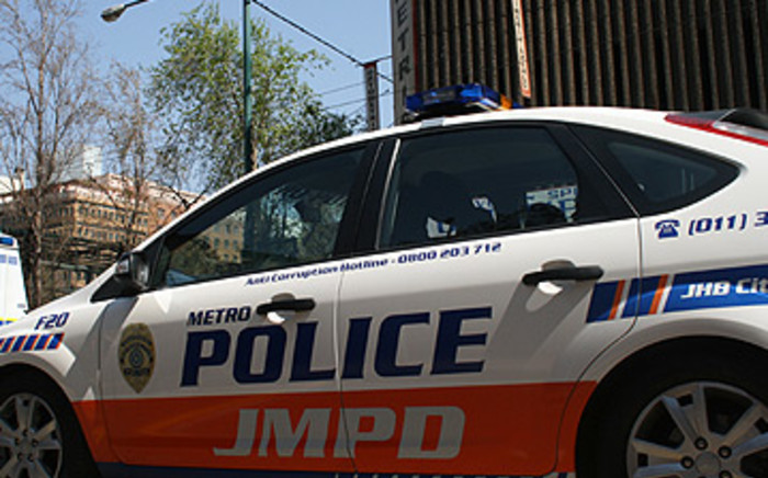 Patrol vehicle of the Johannesburg Metro Police Department (JMPD). Picture: Taurai Maduna/Eyewitness News