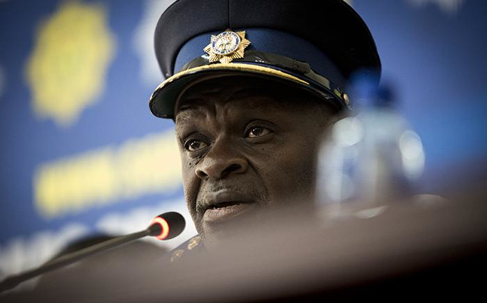 National Police Commissioner Khehla Sitole. Picture: Sethembiso Zulu/EWN