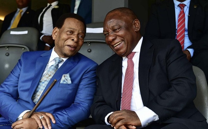 President Cyril Ramaphosa sent condolences on the passing of King Goodwill Zwelithini kaBhekuzulu Zulu on 12 March 2021. Picture: President Cyril Ramaphosa/Twitter.