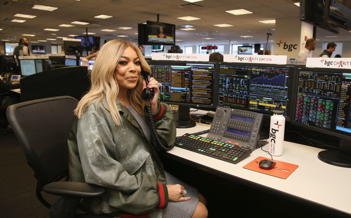 FILE: Wendy Williams attends Annual Charity Day hosted by Cantor Fitzgerald, BGC and GFI at BGC Partners, INC on 11 September 2018 in New York City. Picture: AFP