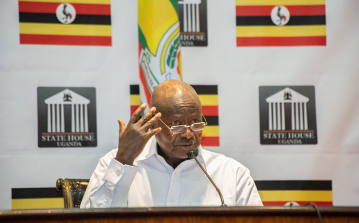 FILE: Uganda's President Yoweri Museveni. Picture: AFP