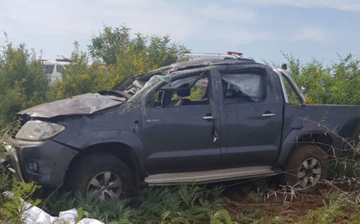 The scene of an accident near Rustenburg on 25 December 2018. Picture: @Netcare911_sa/Twitter