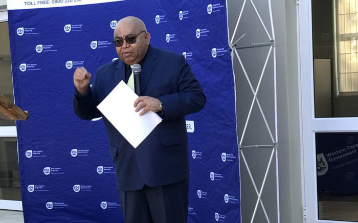 FILE: Western Cape Community Safety MEC Albert Fritz. Picture: @AlbertFritz_DA/Twitter