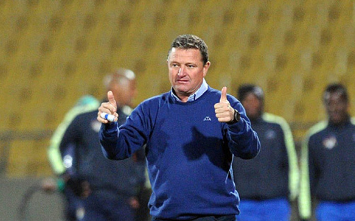Coach Gavin Hunt says the gap between his team and log leaders Kaizer Chiefs is too big to catch up.