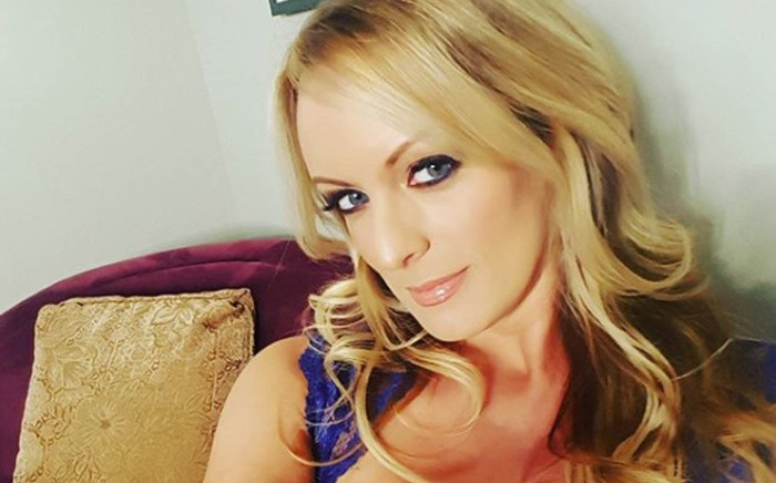 Adult film actress Stephanie Clifford, who uses Stormy Daniels as her professional name. Picture: @thestormydaniels/Instagram