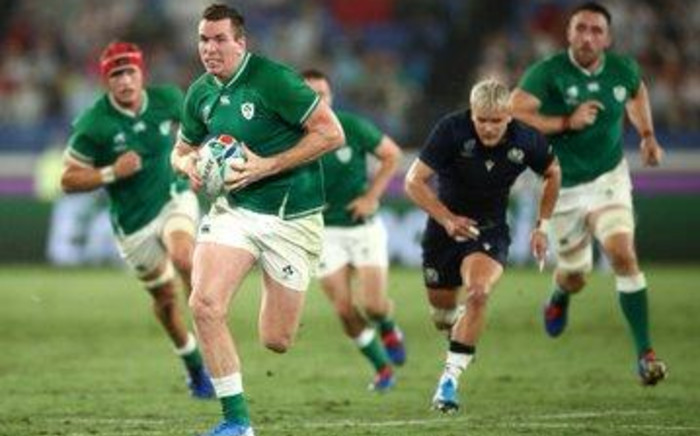 Ireland vs Scotland on 22 September 2019 at the Rugby World Cup in Japan. Rugby World Cup/Twitter