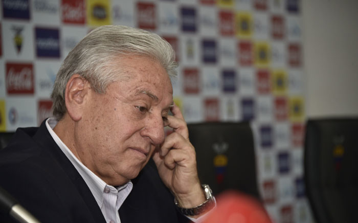 Luis Chiriboga. Picture: AFP.