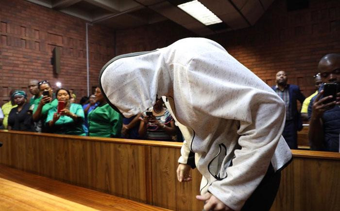 Nicholas Ninow, who is accused of raping a seven-year-old girl in a Dros restaurant, briefly appeared in the Pretoria Magistrates Court on 28 November 2018. Picture: Abigail Javier/EWN