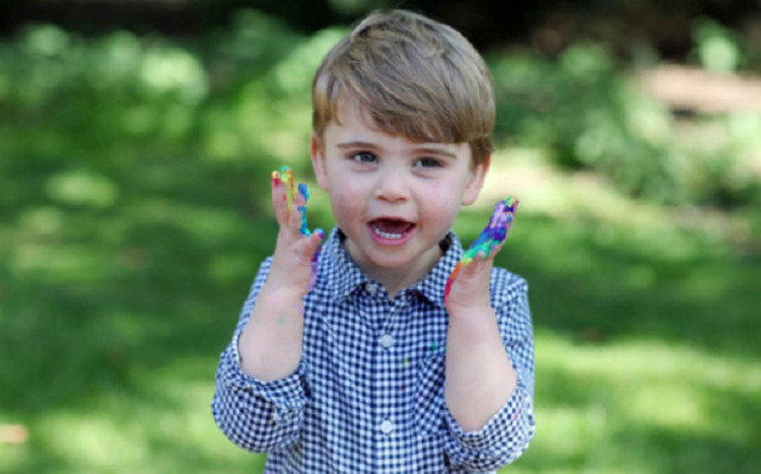 Undated handout photo released by Kensington Palace of Prince Louis, who celebrates his second birthday on 23 April 2020. Picture: @KensingtonRoyal/Twitter.