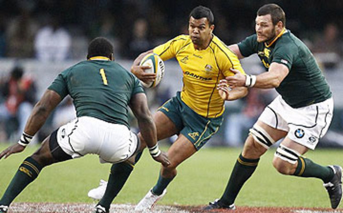 Wallabies and Rebels back Kurtley Beale. Picture: AFP