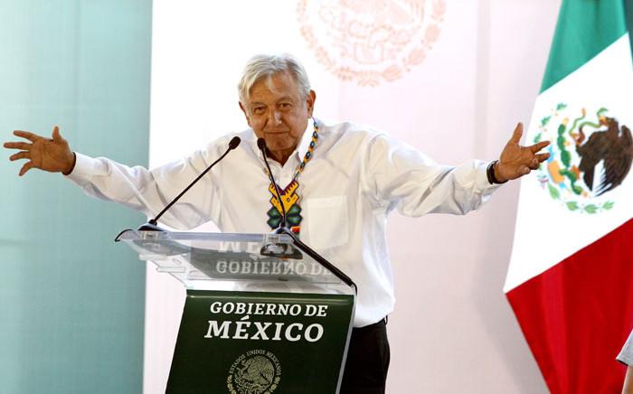FILE: Mexico's President Andres Manuel Lopez Obrador. Picture: AFP