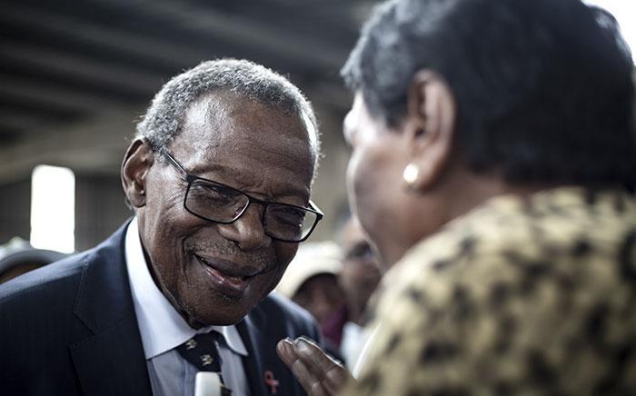 Inkatha Freedom Party (IFP) leader Mangosuthu Buthelezi. Picture: Sethembiso Zulu/EWN.