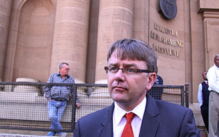 AfriForum's Willie Spies. Picture: EWN