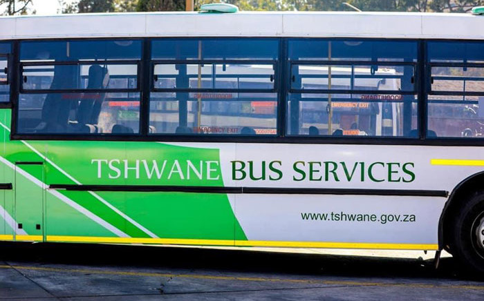 A City of Tshane bus. Picture: @Tshwanebus2/Twitter