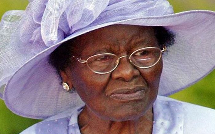 Epainette Mbeki passed away at a private hospital in East London in the Eastern Cape, at the age of 98. Picture: KFM