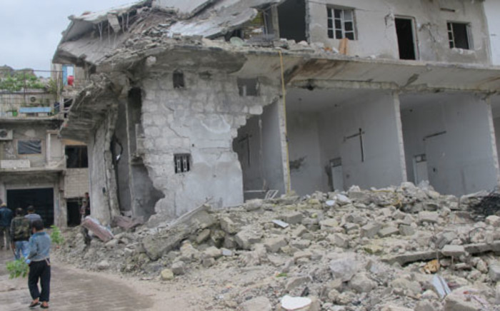 FILE: A bombed house in Harem, Syria. Picture: Rahima Essop/EWN.