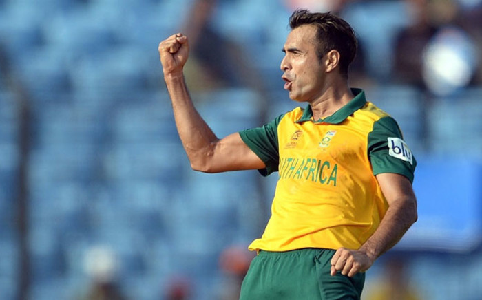 Proteas spinner Imran Tahir. Picture: Cricket South Africa Facebook page.