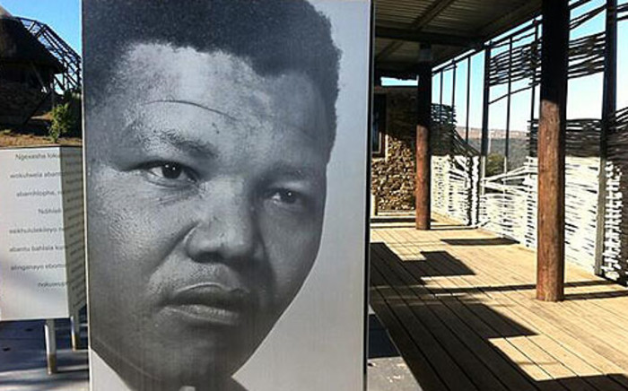 FILE: An open-air exhibit of Nelson Mandela at Mvezo Great Place. Picture: Rahima Essop/EWN.