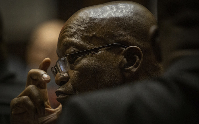 FILE: Former President Jacob Zuma in court on 23 May 2019. Picture: Sethembiso Zulu/Eyewitness News.