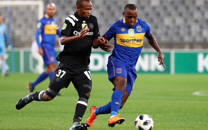 Cape Town City FC and Orlando Pirates in action in their Nedbank Cup match on 14 March 2018. Picture: @CapeTownCityFC/Twitter