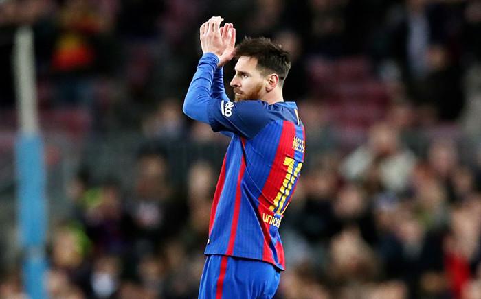 Barcelona's Lionel Messi. Picture: Facebook.