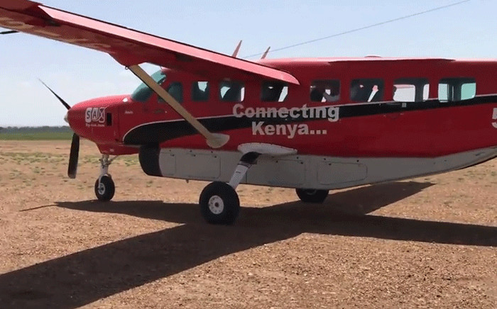 FILE: A sceengrab shows a plane similar to the missing aircraft that took off from Kitale, a town in Kenya's west region. Picture: YouTube