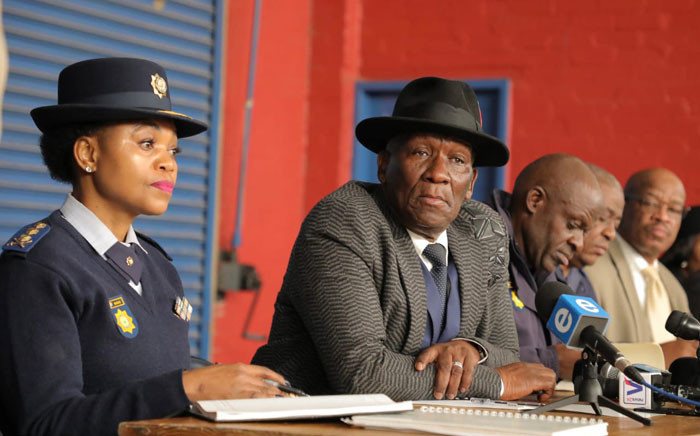 Police Minister Bheki Cele. Picture: @SAPoliceService/Twitter