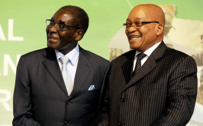 Zimbabwean President Robert Mugabe and President Jacob Zuma. Picture: GCIS