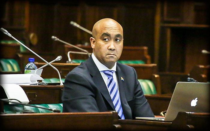 FILE: NPA head Shaun Abrahams in the Old Assembly Building in Cape Town during a briefing. Picture: EWN