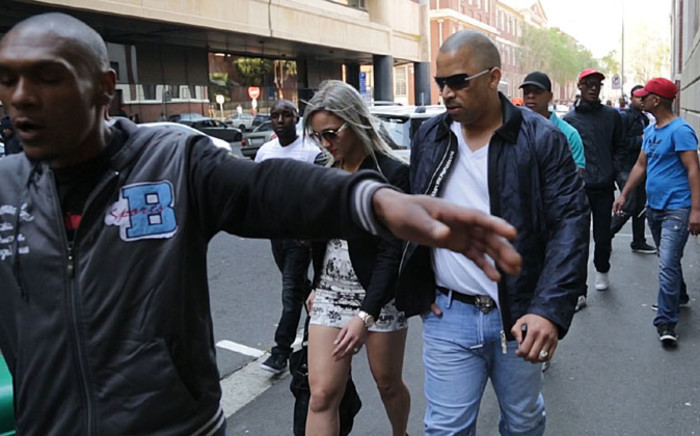 Ralph Stanfield, who's out on R100,000 bail, appeared in the Cape Town Magistrates Court with five other co-accused on 4 September, 2014. Picture: Thomas Holder/EWN