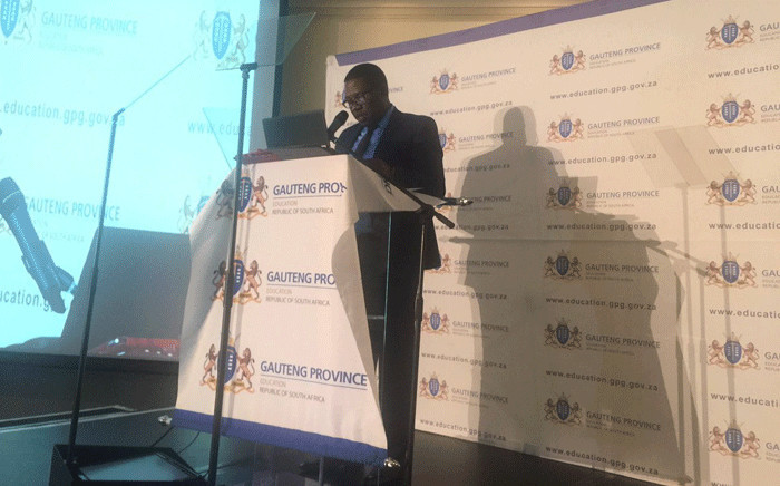 FILE: Gauteng Education MEC Panyaza Lesufi. Picture: Thando Kubheka/EWN