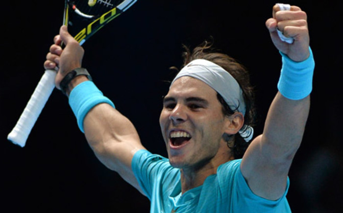FILE: Rafael Nadal. Picture: AFP