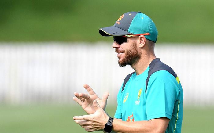 Australia's David Warner. Picture: cricketworldcup.com