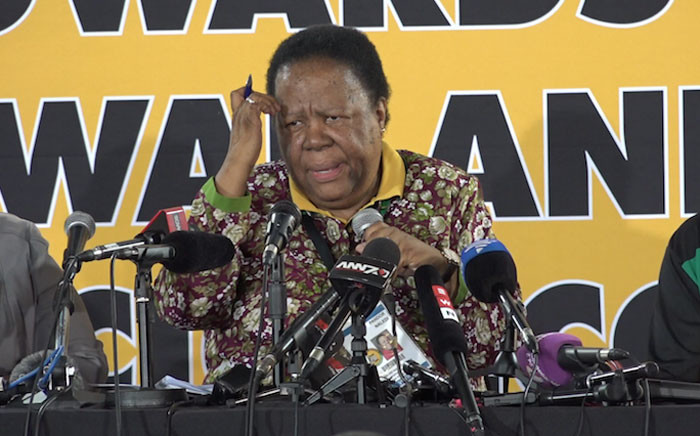 Minister of Science and Technology Naledi Pandor. Picture: Louise McAuliffe/EWN