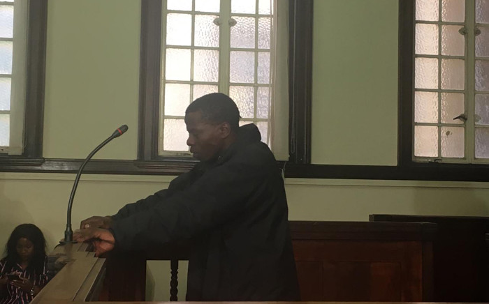 Mohamed Mwela appeared in the Johannesburg Magistrates Court on 10 June 2019 for stabbing 16-year-old Daniel Bakwela to death outside Forest High School. Picture: Robinson Nqola/EWN
