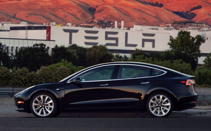 FILE: Tesla Inc's Model 3 sedan. Picture:  @Tesla/Twitter