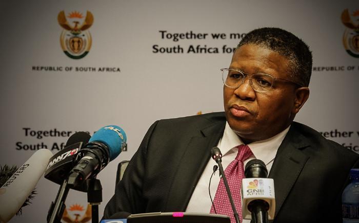 FILE: Sports Minister Fikile Mbalula. Picture: Thomas Holder/EWN.