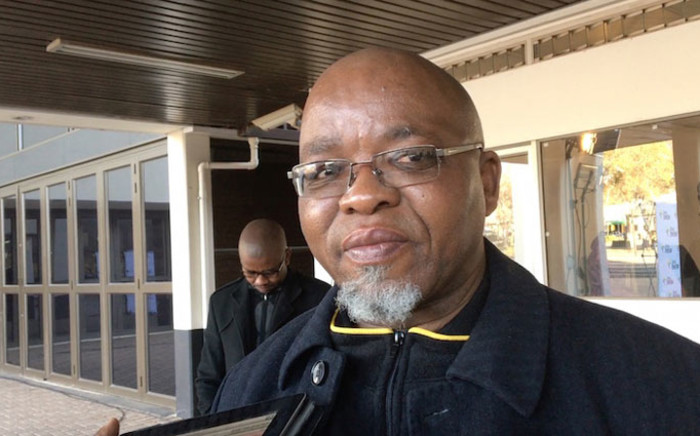 Mineral Resources Minister Gwede Mantashe. Picture: EWN.