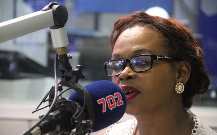 Journalist Thandeka Gqubule. Picture: Talk Radio 702