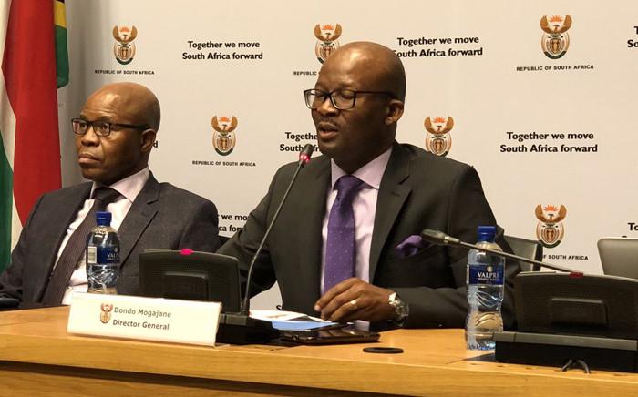 Treasury's Director-General Dondo Mogajane. Picture: @SAgovnews/Twitter