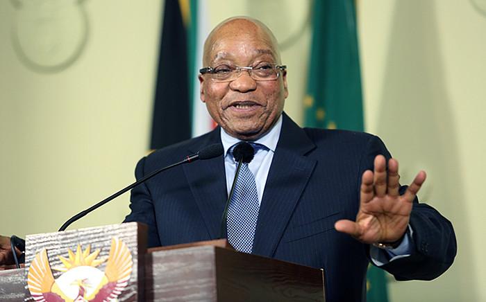 FILE. President Jacob Zuma. Picture: Reinart Toerien/EWN