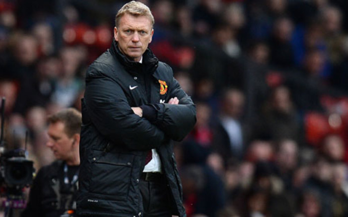 Manchester United manager David Moyes. Picture: AFP.