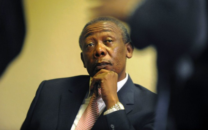 FILE: Jackie Selebi ahead of his corruption trail at the high court in Johannesburg on 14 April, 2009. Picture: AFP.