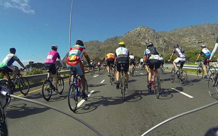 FILE: The race was also dubbed the 'Show You Care Solidarity Ride' in honour of firefighters. Picture: EWN.