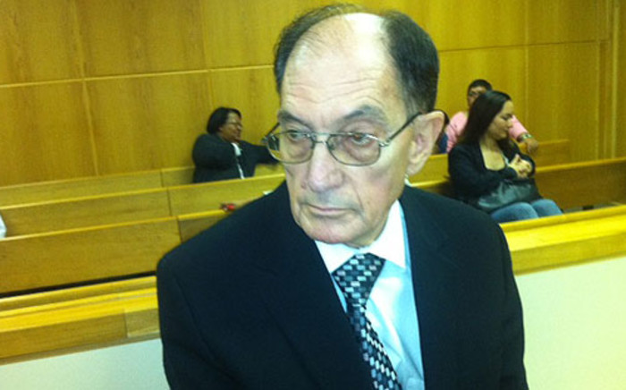 Alleged paedophile Johannes Kleinhans is facing 95 charges of sexual assault, sexual grooming and child pornography. Picture: Catherine Rice/EWN