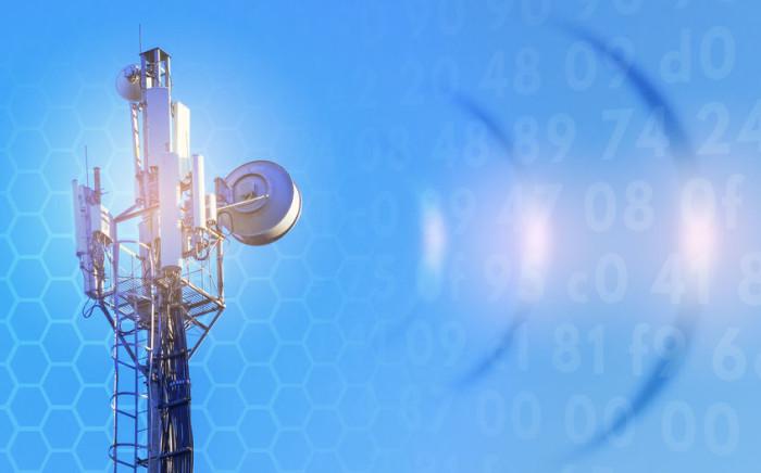 Cell tower wireless internet 123rf